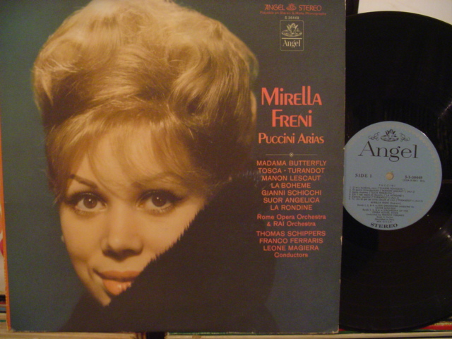 MIRELLA FRENI - PUCCINI ARIAS - ANGEL - FV 7