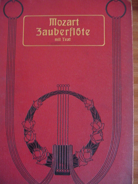 MOZART - ZAUBERFLOTE - VOICE & PIANO - PETERS EDITION