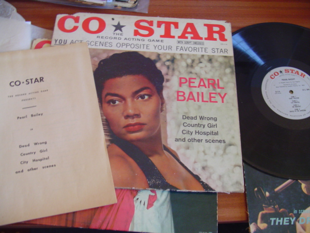 PEARL BAILEY - DEAD WRONG , COUNTRY GIRL - CO STAR