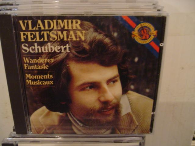 SCHUBERT - PIANO -- VLADIMIR FELTSMAN - CD 45