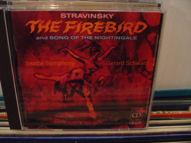 STRAVINSKY - THE FIREBIRD - SCHWARZ - DELOS - CD 30