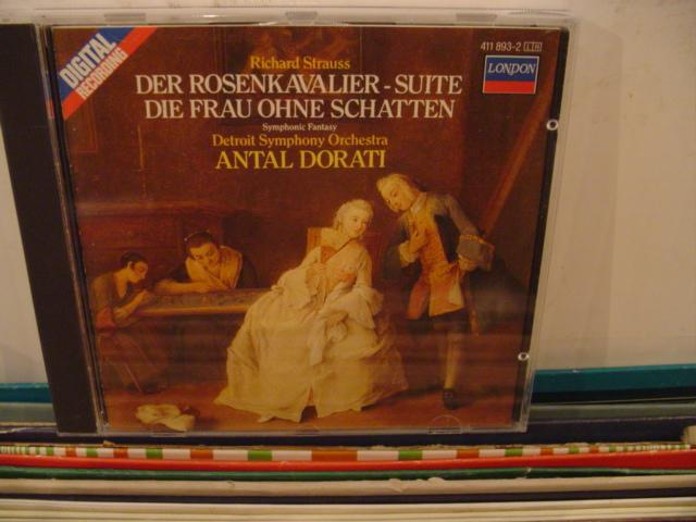 STRAUSS - ROSENKAVALIER SUITE - DORATI - CD 28
