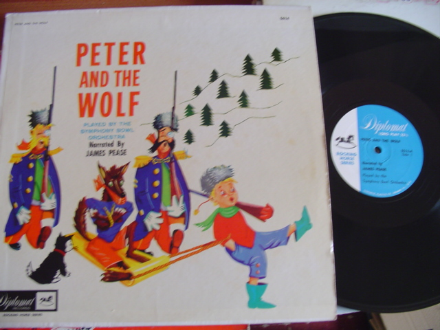 PETER THE WOLF - JAMES PEASE NARRATOR - DIPLOMAT