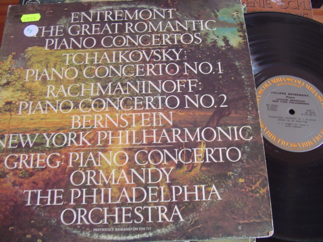 TCHAIKOVSKY PIANO - ENTREMONT - 2 LP COLUMBIA