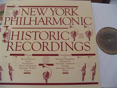 NEW YORK PHILHARMONIC - 1917 - 1950 - COLUMBIA { 815