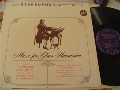 BRUNO HOFFMANN - MUSIC FOR GLASS HARMONICA - VOX { 816