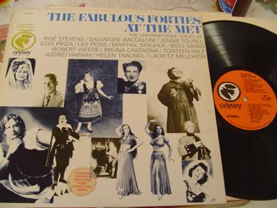 VARIOUS ARTISTS - FABULOUS FORTIES AT MET - ODYSSEY { 817