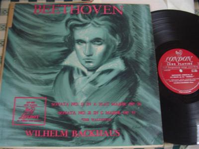 BACKAUS - BEETHOVEN SONATA 12 & 21 - LONDON LLP 265 { 973