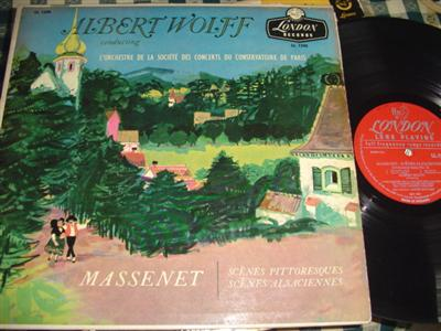 MASSENET - ALSACIENNES - WOLFF - LONDON { 988