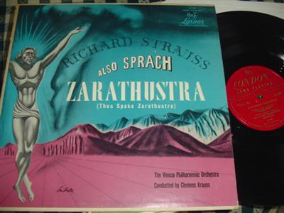 STRAUSS - ALSO SPRACH ZARATHUSTRA - KRAUSS - LONDON { 989