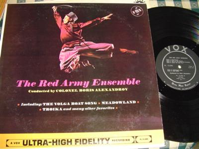RED ARMY ENSEMBLE - ALEXANDROV - VOX { 1034