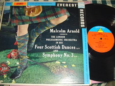 MALCOLM ARNOLD - SCOTTISH DANCES - EVEREST { R 1017