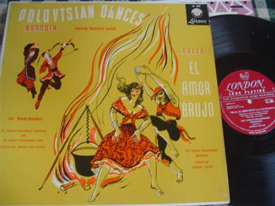 BORODIN FALLA DANCES - VAN BEINUM & COLLINS - LONDON { 977