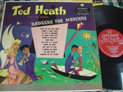 TED HEATH - RODGERS for MODERNS - LONDON { 978