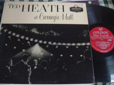 TED HEATH - CARNEGIE HALL - LONDON { 978