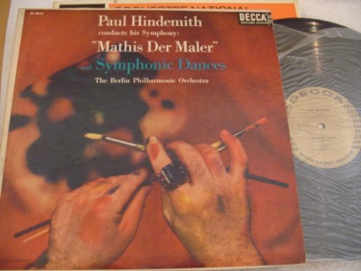 HINDEMITH - MATHIS MALER - HINDEMITH - DECCA { 1062