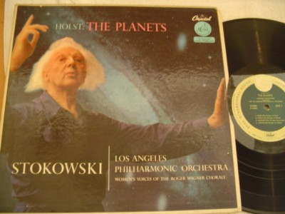 HOLST - THE PLANETS - STOKOWSKI - CAPITOL { 1046