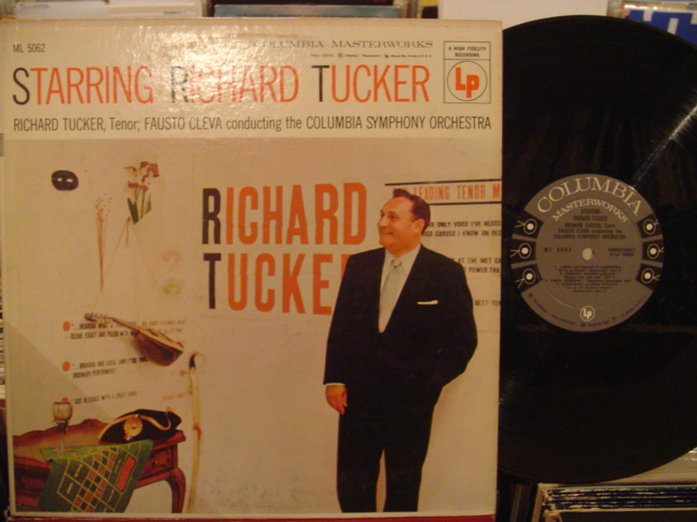 RICHARD TUCKER - STARRING - COLUMBIA 6 EYE - MV 41