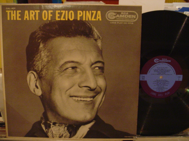 EZIO PINZA - THE ART OF - RCA CAMDEN - MV 42