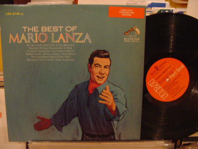 MARIO LANZA - THE BEST OF - RCA - MV 52
