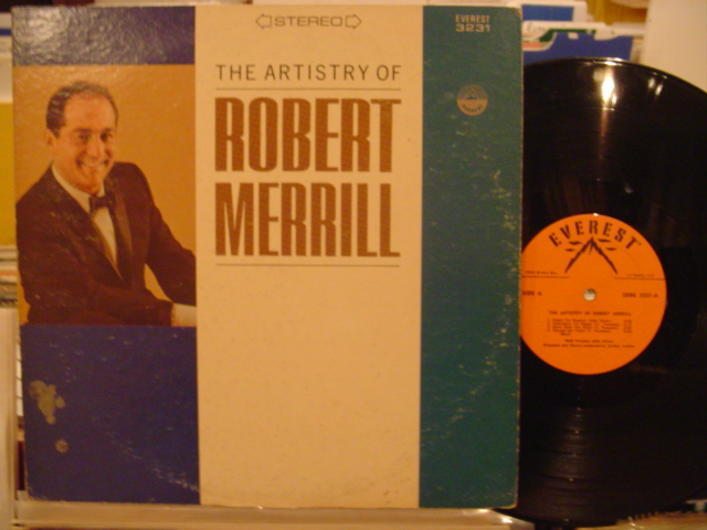 ROBERT MERRILL - THE ARTISTRY OF - EVEREST MV 57 & 58