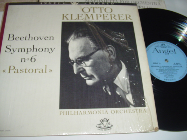 BEETHOVEN - SYMPHONY No 6 - KLEMPERER ANGEL { R 326