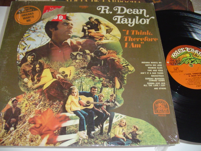 R. DEAN TAYLOR - I THINK THEREFORE - RARE EARTH { R 317