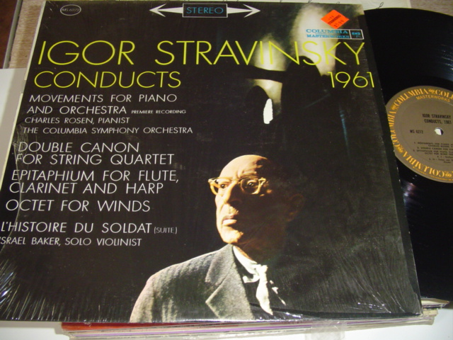 STRAVINSKY - CONDUCTS 1962 - COLUMBIA { R 305