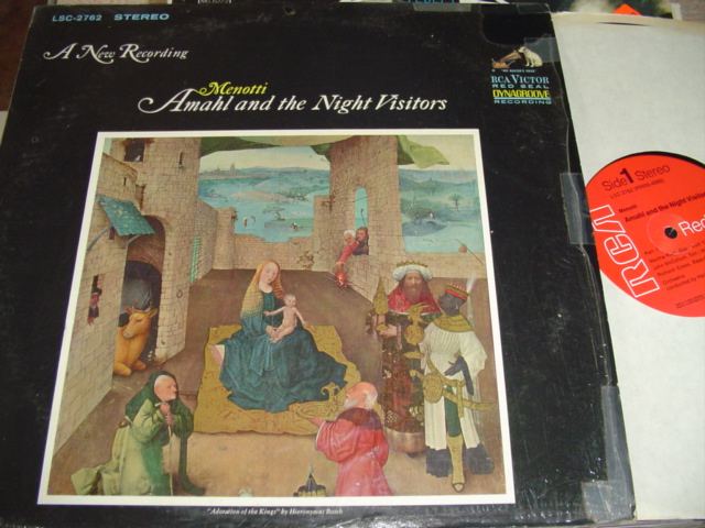 MENOTTI - AMAHL NIGHT VISITOR - GROSSMAN - RCA { R 304