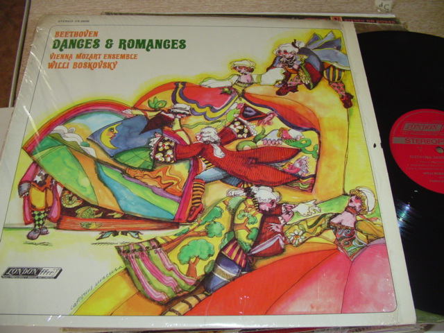 BEETHOVEN - DANCES ROMANCES - BOSKOVSKY LONDON { R 296