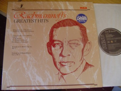 RACHMANINOFF - PIANO - GREATEST HITS - RCA DMM { R 480