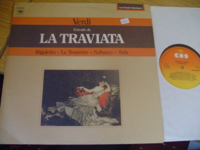 VERDI - LA TRAVIATA highlights - SCHIPPERS - CBS { R 489
