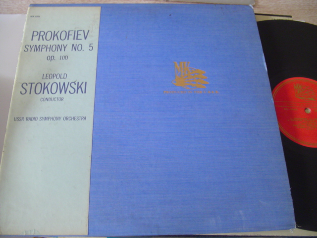 PROKOFIEV - SYMPH No 5 - STOKOWSKI - MK RECORDS { 606