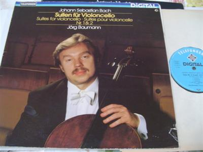 JORG BAUMANN cello - BACH - CELLO SUITE - TELEFUNKEN { 687