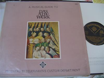 MUSICAL GUIDE TO DAS ALTE WERK - TELEFUNKEN { 689
