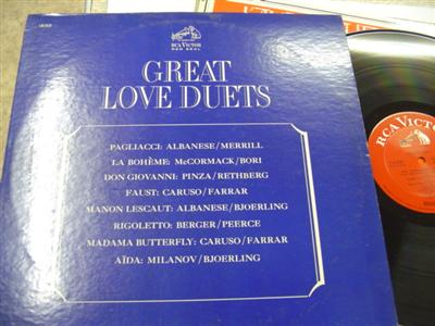 GREAT LOVE DUETS - CARUSO McCORMACK - RCA { 703