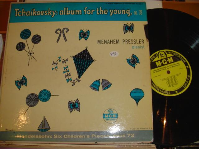 MENAHEM PRESSLER piano - TCHAIKOVSKY - FOR YOUNG - MGM
