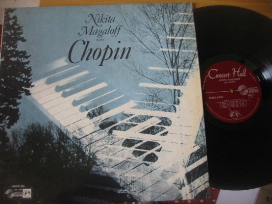 MAGALOFF - piano - PLAYS CHOPIN - CONCERT DISC