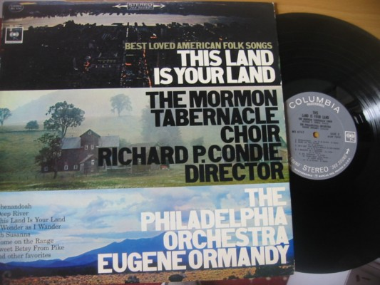 MORMON TABERNACLE CHOIR - THIS LAND IS - COLUMBIA