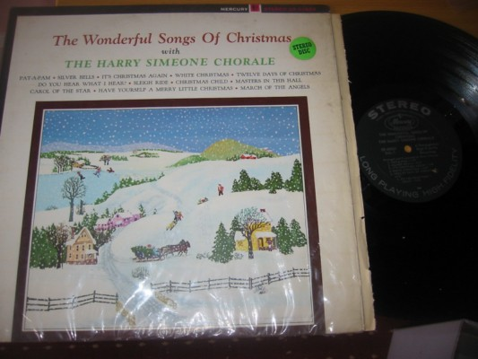 HARRY SIMEONE - WONDERFUL CHRISTMAS SONGS - MERCURY