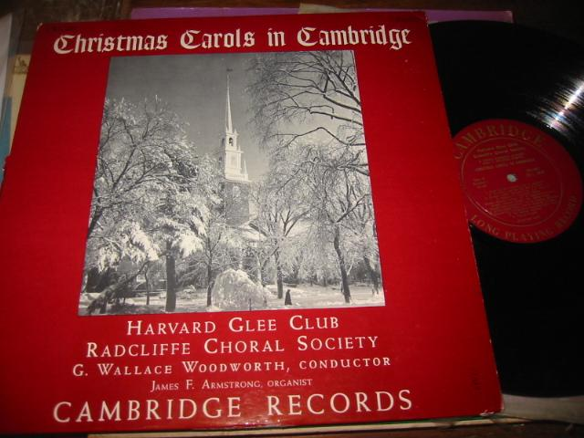 HARVARD GEE CLUB - CHRISTMAS CAROLS CAMBRIDGE - CH 5