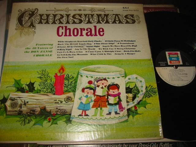 DON JANSE CHOIR - CHRISTMAS CHORALE - GRAND PRIX - CH 11