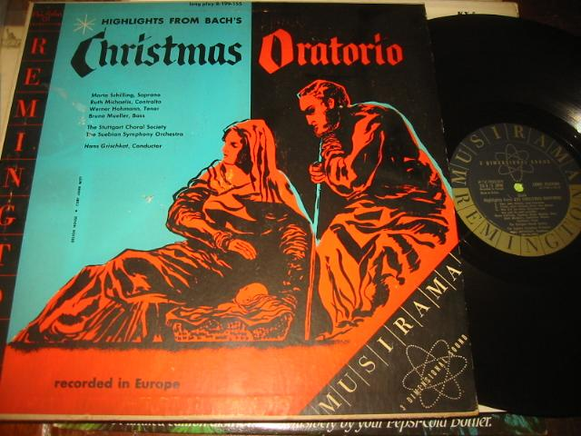 BACH - CHRISTMAS ORATORIO - REMINGTON - CH 10