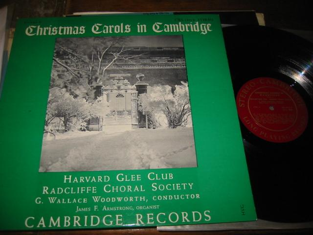 HARVARD GEE CLUB - CHRISTMAS CAROLS CAMBRIDGE 2 - CH 9