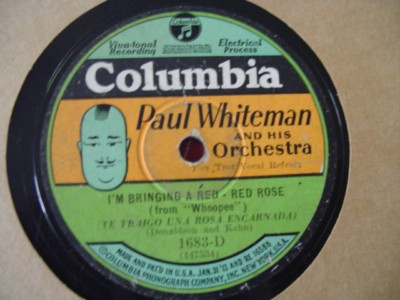 PAUL WHITEMAN - MAKIN WHOOPEE - COLUMBIA 1683 { 1221