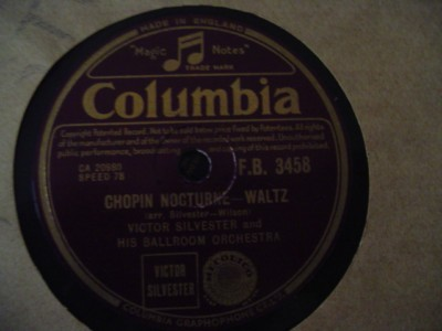 VICTOR SILVESTER - CHOPIN - COLUMBIA 3458 { 1203