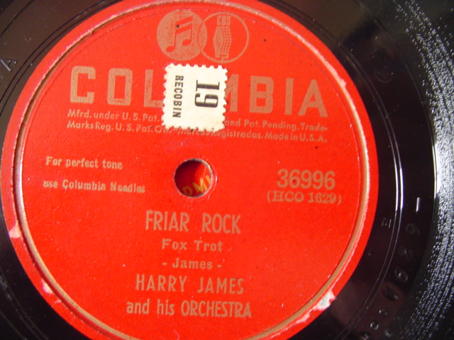 HARRY JAMES - EASY - COLUMBIA 36996