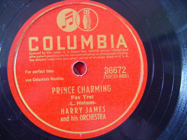 HARRY JAMES - VELVET MOON - COLUMBIA 36672