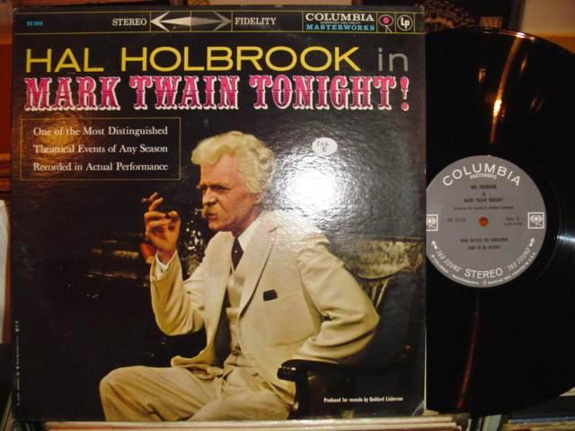 HAL HOLBROOK - MARK TWAIN - COLUMBIA 2 EYE