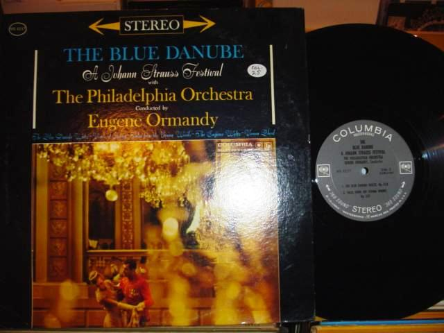 STRAUSS - BLUE DANUBE - ORMANDY - COLUMBIA 2 EYE
